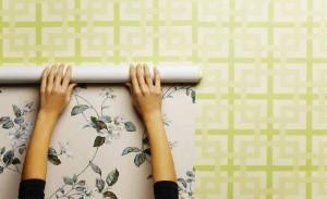 Krepischi - papel de parede - aplicação