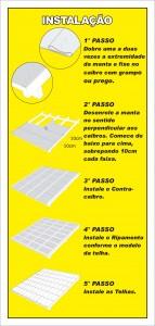 Krepischi Brasfoil Manual Instalação de Telhas Pequenas